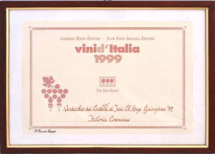 """Gaiospino 1997: """"3 bicchieri"""" 1999"""