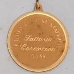 Medaglia premio città di staffolo 1999 alla fattoria coroncino